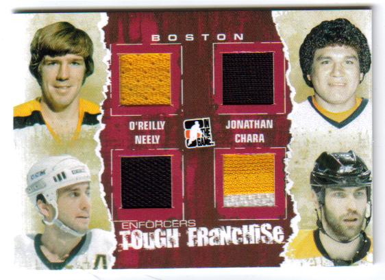2011-12 ITG Enforcers Tough Franchise Red /O?Reilly/Jonathan/Neely TF-08 [xx/10]