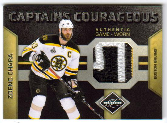 2011-12 Panini Limited Captains Courageous 8 [5/5]